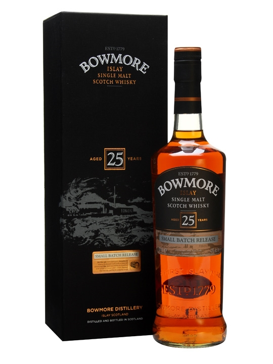 bowmore whisky, 25 year
