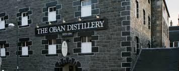oban malt whisky at oban distillery
